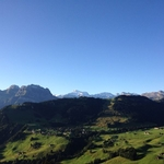 View from the Stanserhorn-Wirzweli hiking trail